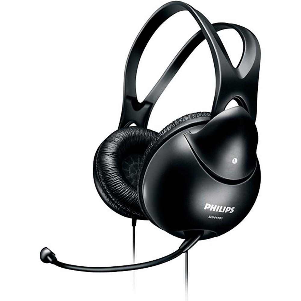 fa970483099 → Headset SHM1900 00 - Philips é bom  Vale a pena
