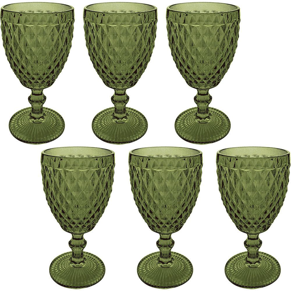 d7e3d3acf Jogo de Taças 250ml para Água Verde Verre com 6 Peças - Mimo Style é bom