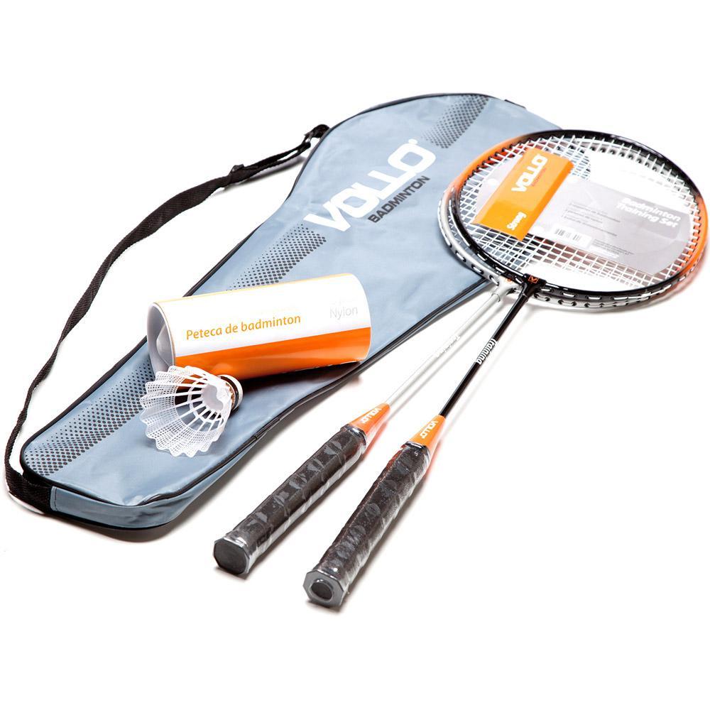 92c2fee2e → Kit Badminton com 2 Raquetes e 3 Petecas de Nylon Xd016 - Vollo é ...