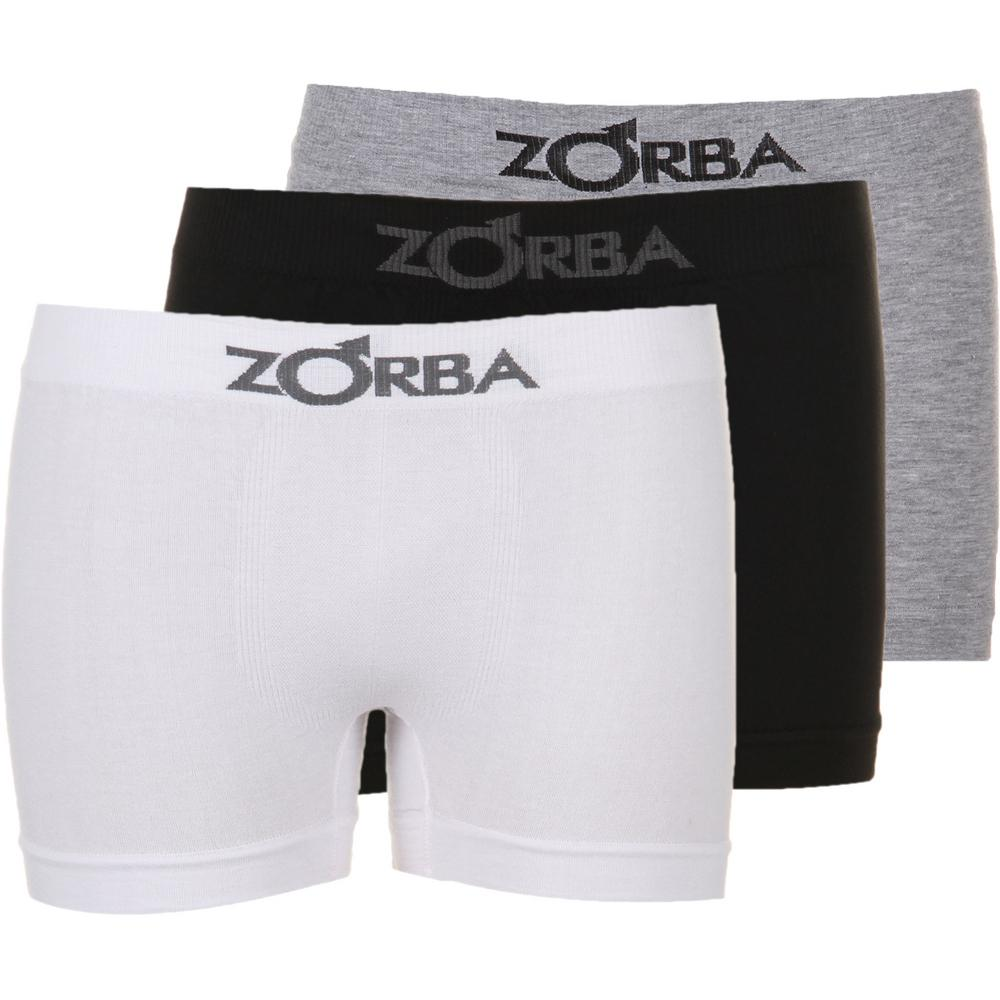 4addd9f4b → Kit Com 3 Cuecas Boxer Zorba Sem Costura P é bom  Vale a pena