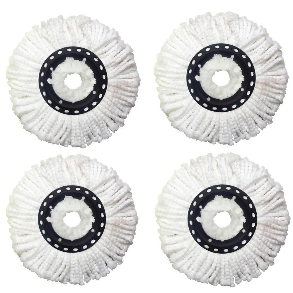 24da0389a Kit Com 4 Refis Universal De Microfibra Para Esfregão De Balde Spin Mop é  bom? Vale a pena?
