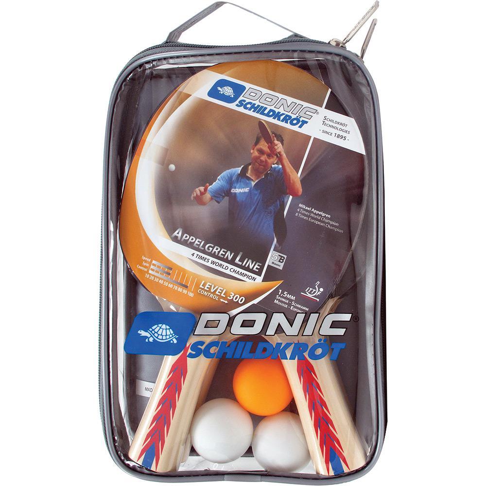 c7355d492 Vale a pena  Kit de Raquetes Bolas de Tênis com rede e Suporte Appelgren  2-Player Set 300