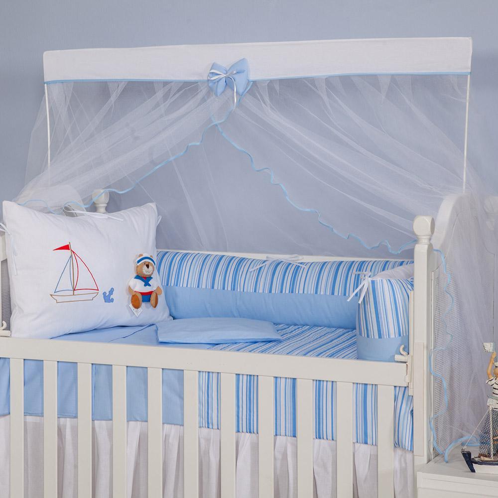 a1c568d28e → Kit para Berço Marinheiro 100% algodão - Zany Baby é bom  Vale a ...