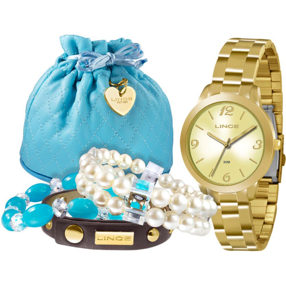 605a760f698 Kit Relógio Feminino Lince Analógico Fashion Lrg4297l K098c2kx é bom  Vale  a pena