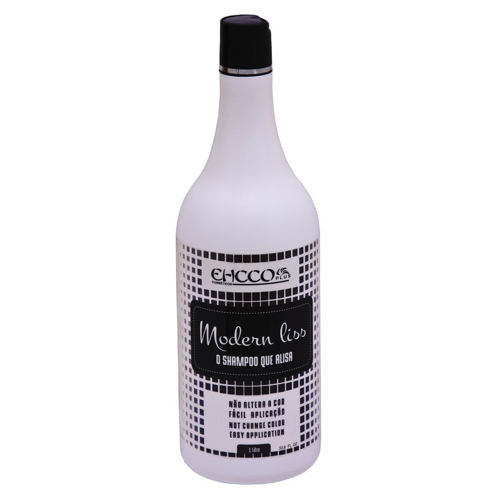76dfafbb4 Kit Shampoo Alisante (Shampoo Que Alisa) 1000ml E Máscara Black Matizadora  Reparadora Ehcco 250ml é bom? Vale a pena?