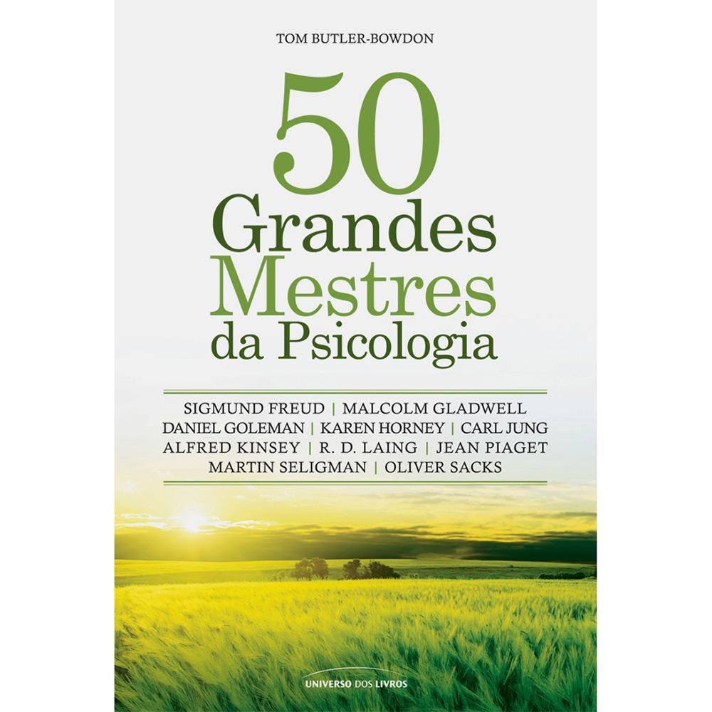 577b4cdce74 → Livro - 50 Grandes Mestres da Psicologia é bom  Vale a pena