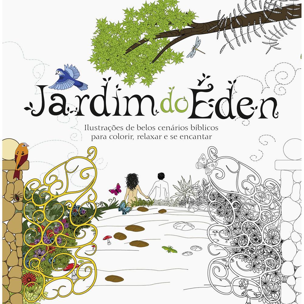 Livro Para Colorir Jardim Do Eden Ilustracoes De Belos