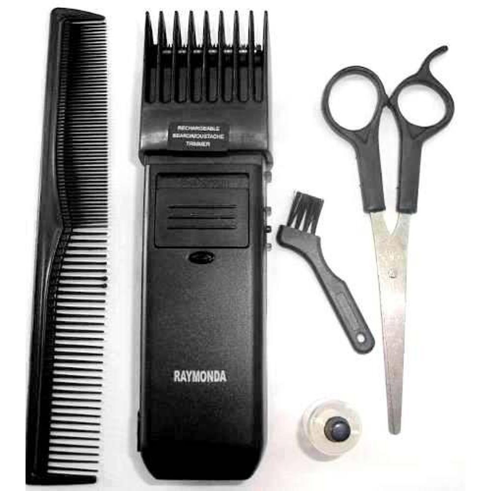 Maquina De Cortar Cabelo Aparar Barba Raymonda Bivolt