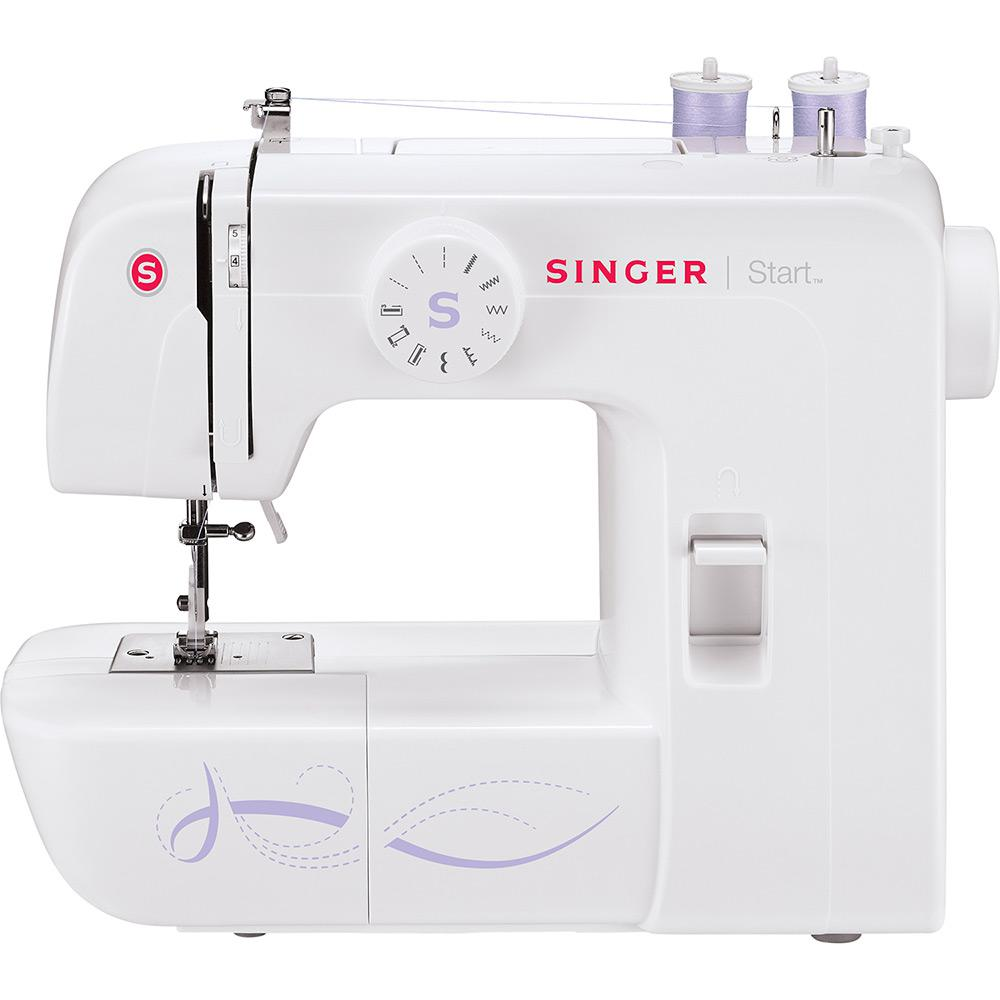 905492774 → Máquina de Costura Portátil Singer Start 1306 é bom  Vale a pena