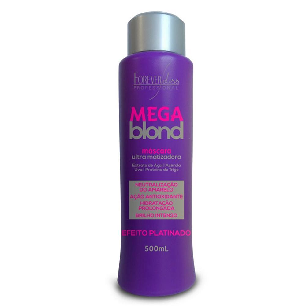 9df949011 → Máscara Matizadora Forever Liss Mega Blond 500g é bom? Vale a pena?