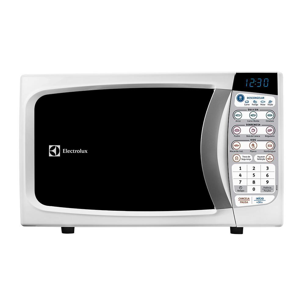 5426edebf → Micro-ondas Electrolux MTD30 20 Litros Branco é bom  Vale a pena