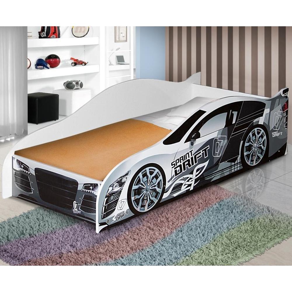 9778e0b988 → Mini Cama Carro Speed Drift - Branco - Rpm Móveis é bom  Vale a pena