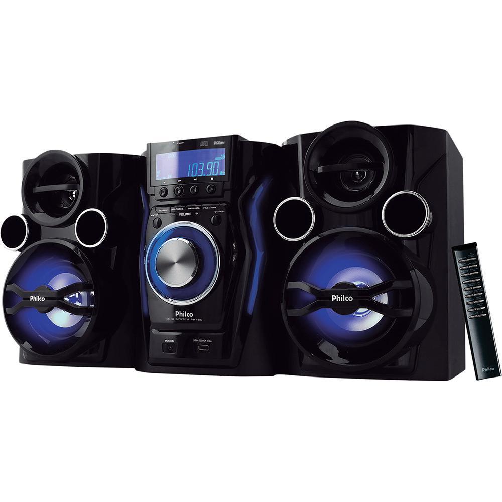 41bc4e6e6b3 Mini System Philco PH450 com Entradas Aux USB Rádio FM Recurso ID3 400W de  Potência é bom  Vale a pena
