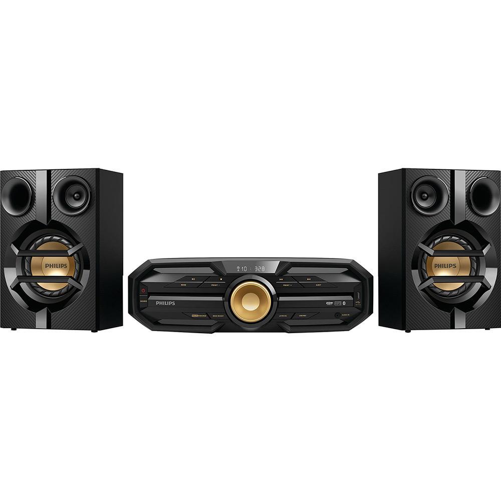 61a4cac57de → Mini System Philips Hi-Fi FX20X 78 Preto CD