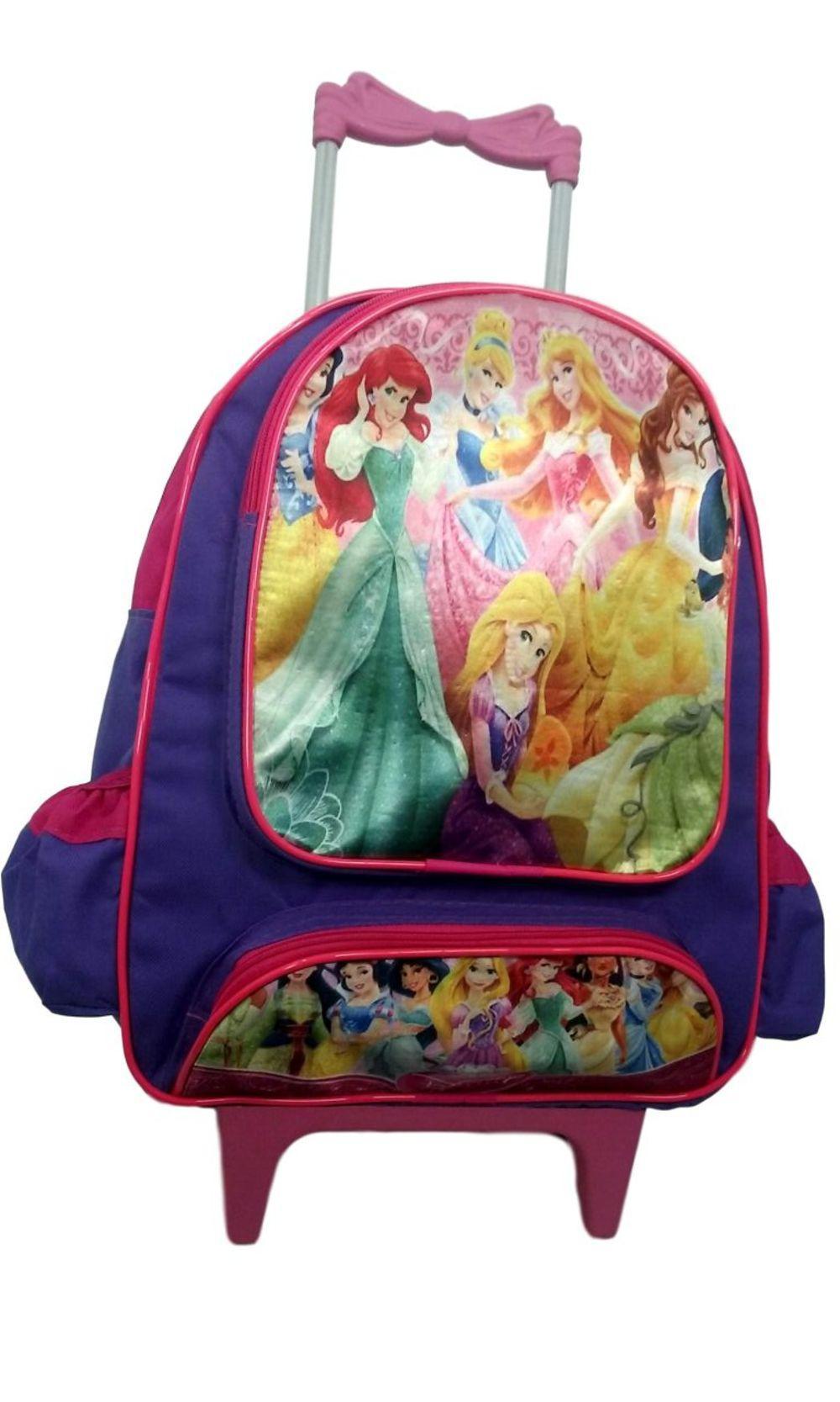 e47c0fe03 Mochila Escolar Infantil As Princesas Com Rodinhas é bom? Vale a pena?