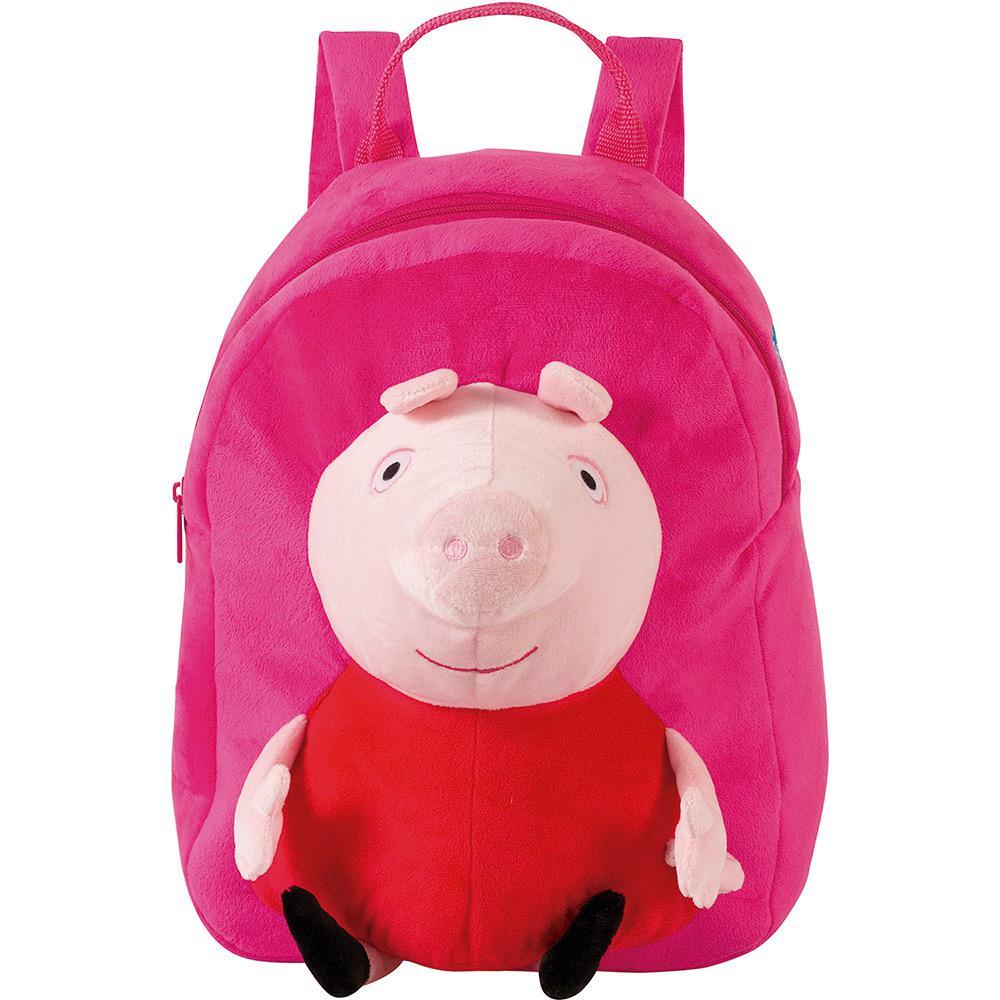 2d1c148ae Mochila Infantil Média Peppa Pig Plush Rosa - Xeryus é bom? Vale a pena?