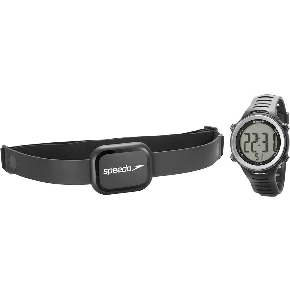fdb1091bedd Monitor Cardíaco Speedo 66001G0EMNP1 Preto Digital com Relógio é bom  Vale  a pena
