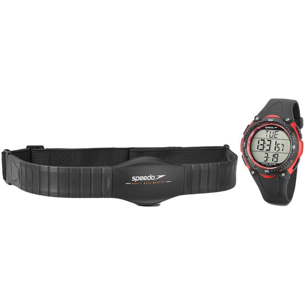 255d2fc33c0 Monitor Cardíaco Speedo 80565G0EPNP1 Preto com Relógio é bom  Vale a pena