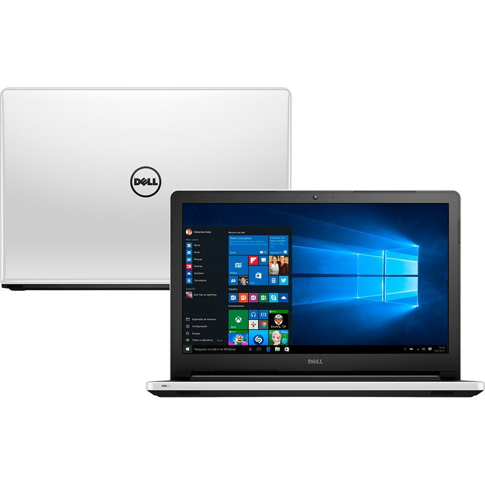 6390a19f8 Notebook Dell Inspiron i15-5558-b40 Intel Core i5 8GB (2GB de Memória