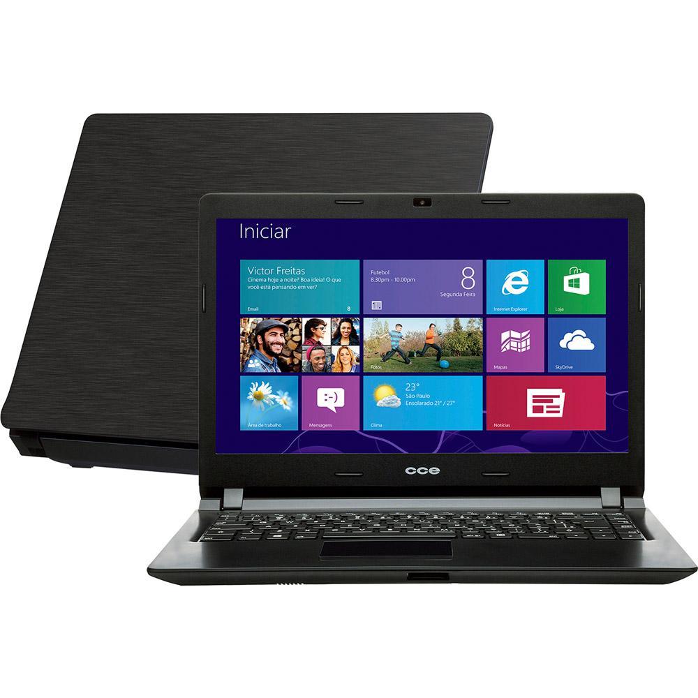 5f2928d99 Notebook Ultrafino CCE Intel Core i3 2GB 500GB Tela LED 14
