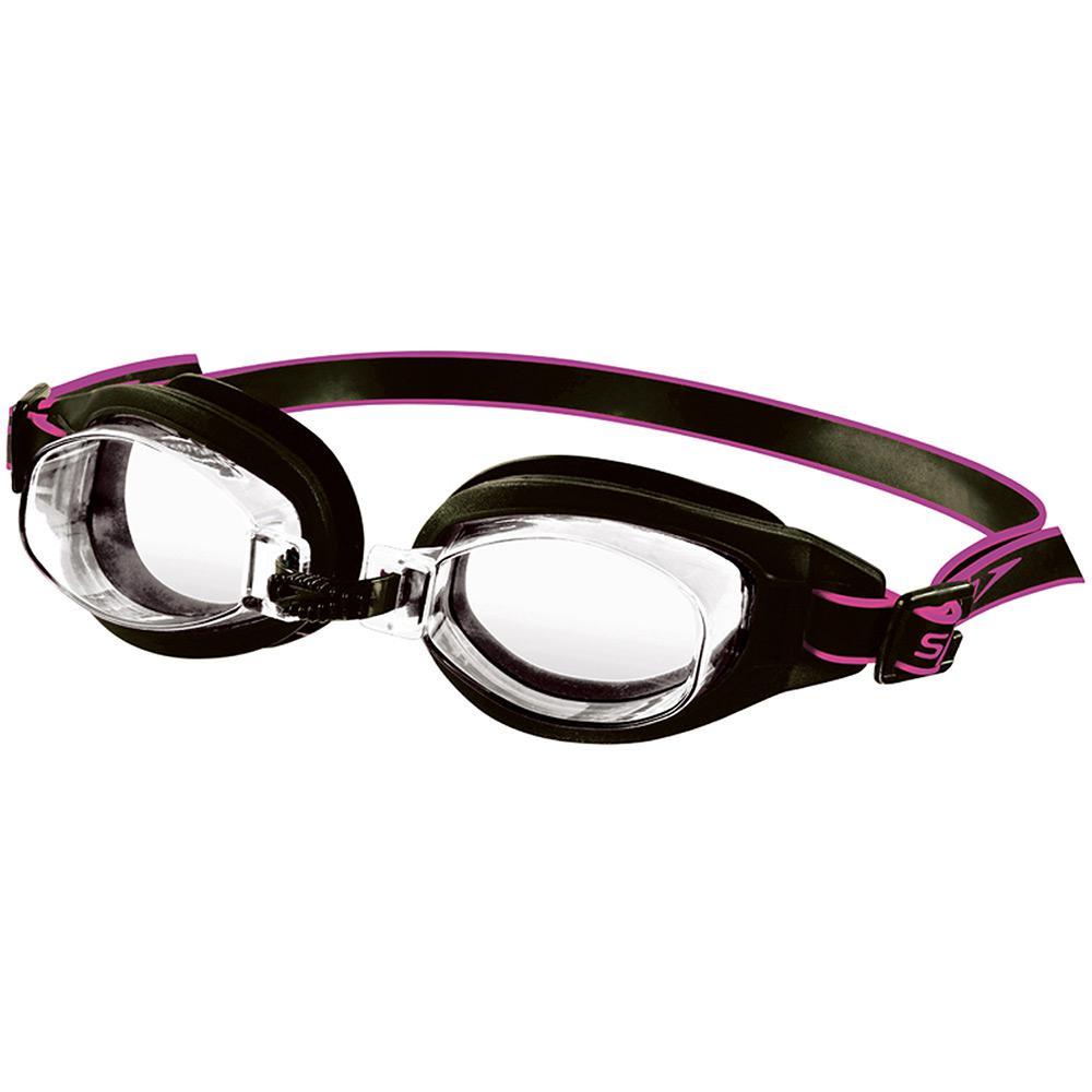 414019139 Óculos de Natação Speedo Freestyle 3 0 Preto Cristal é bom  Vale a pena