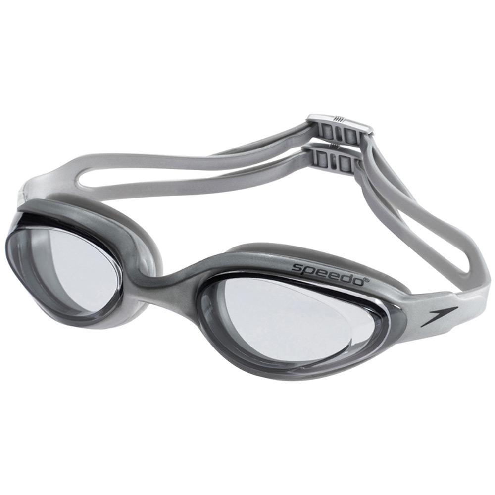 7c92cea62 → Óculos de Natação Speedo Hydrovision Prata Fume é bom  Vale a pena