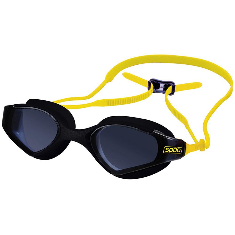 9b25ba970 → Óculos de Natação Speedo Zoom Preto Fume é bom  Vale a pena