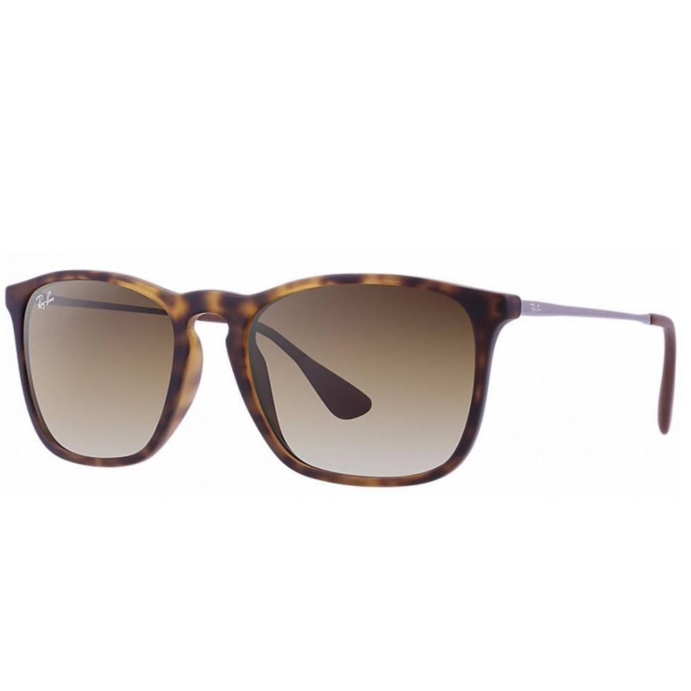 f3c468a53b533 → Óculos De Sol Ray Ban Chris Rb4187 856 13 Tam.54 É BOM  VALE A ...