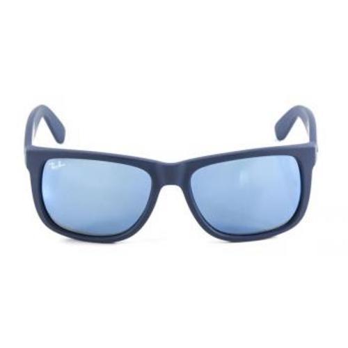 3fe85bb54039e ... spain Óculos de sol ray ban justin rb4165 azul naval lente espelhada é  bom vale a