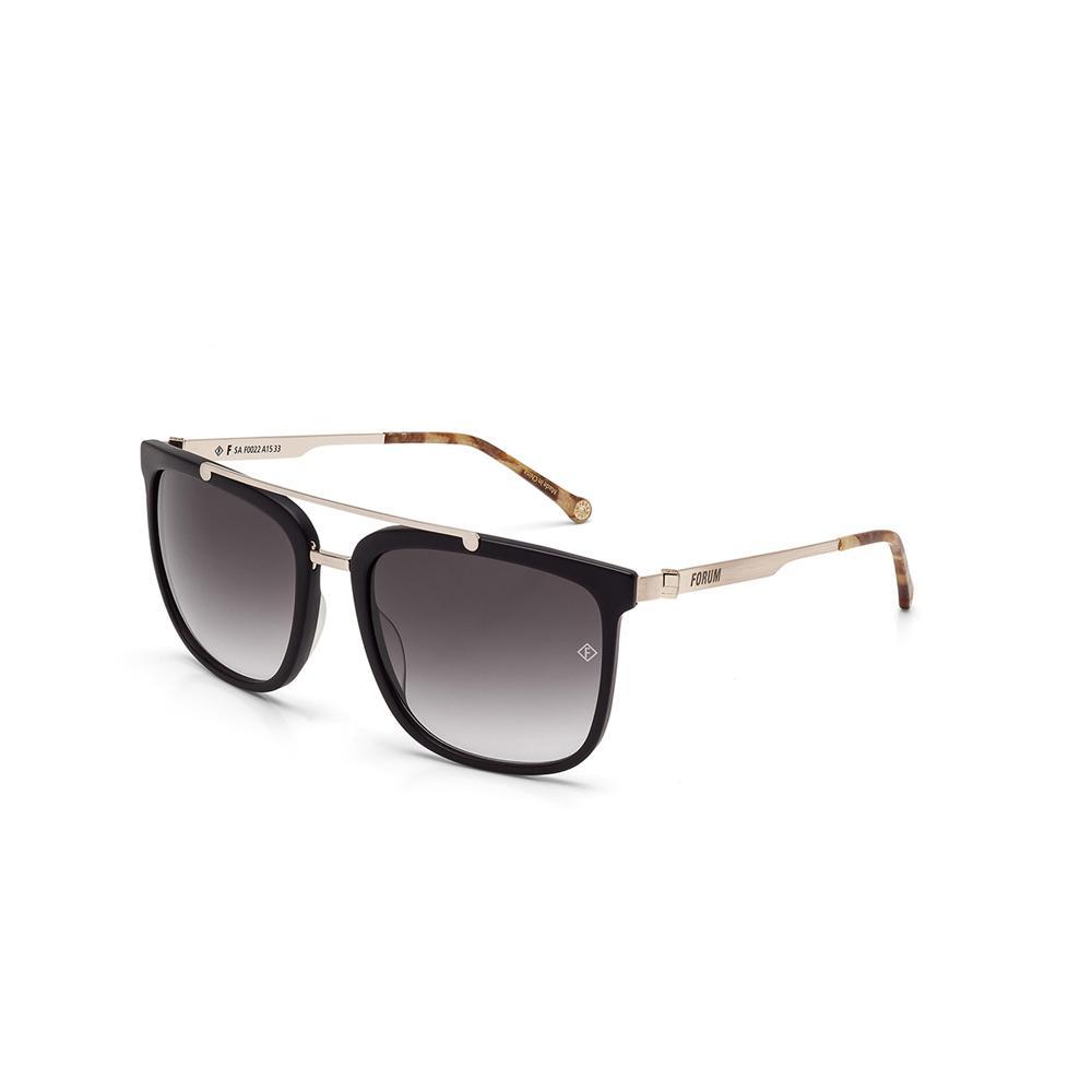 c96150d7a8a14 Oculos Sol Forum F0022 Fosco Com Dourado Fosco Lente Cinza Degrade é bom   Vale a pena