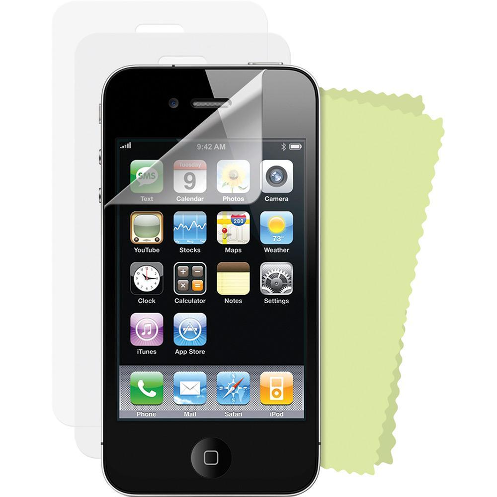 04af0c1fd Película para Celular Transparente Iphone 4 e iPhone 4S Kit 4 Unidades -  Dreamgear é bom