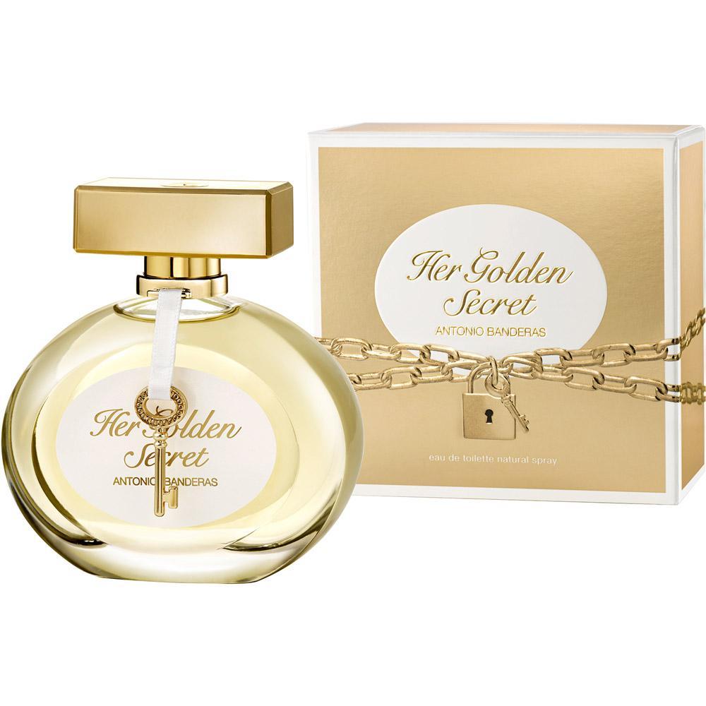 aa84a3195b1 Perfume Antonio Banderas Her Golden Secret Feminino Eau de Toilette 30ml é  bom  Vale a pena