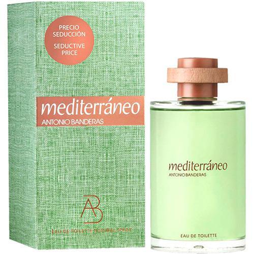 31aaad51f Perfume Antonio Banderas Mediterraneo Masculino Eau de Toilette 200ml é  bom  Vale a pena