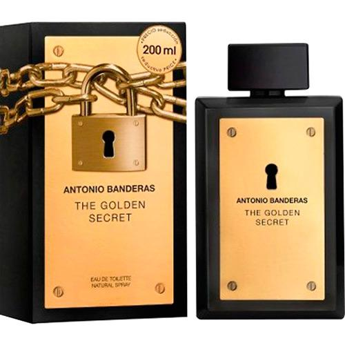 7370ef7a1 Perfume Golden Secret Antonio Banderas Masculino Eau de Toilette 200ml é  bom  Vale a pena