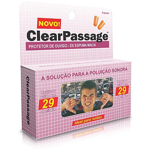 ffa98aafc → Protetor de Ouvido de Espuma Macia (6 Pares) - ClearPassage é bom ...