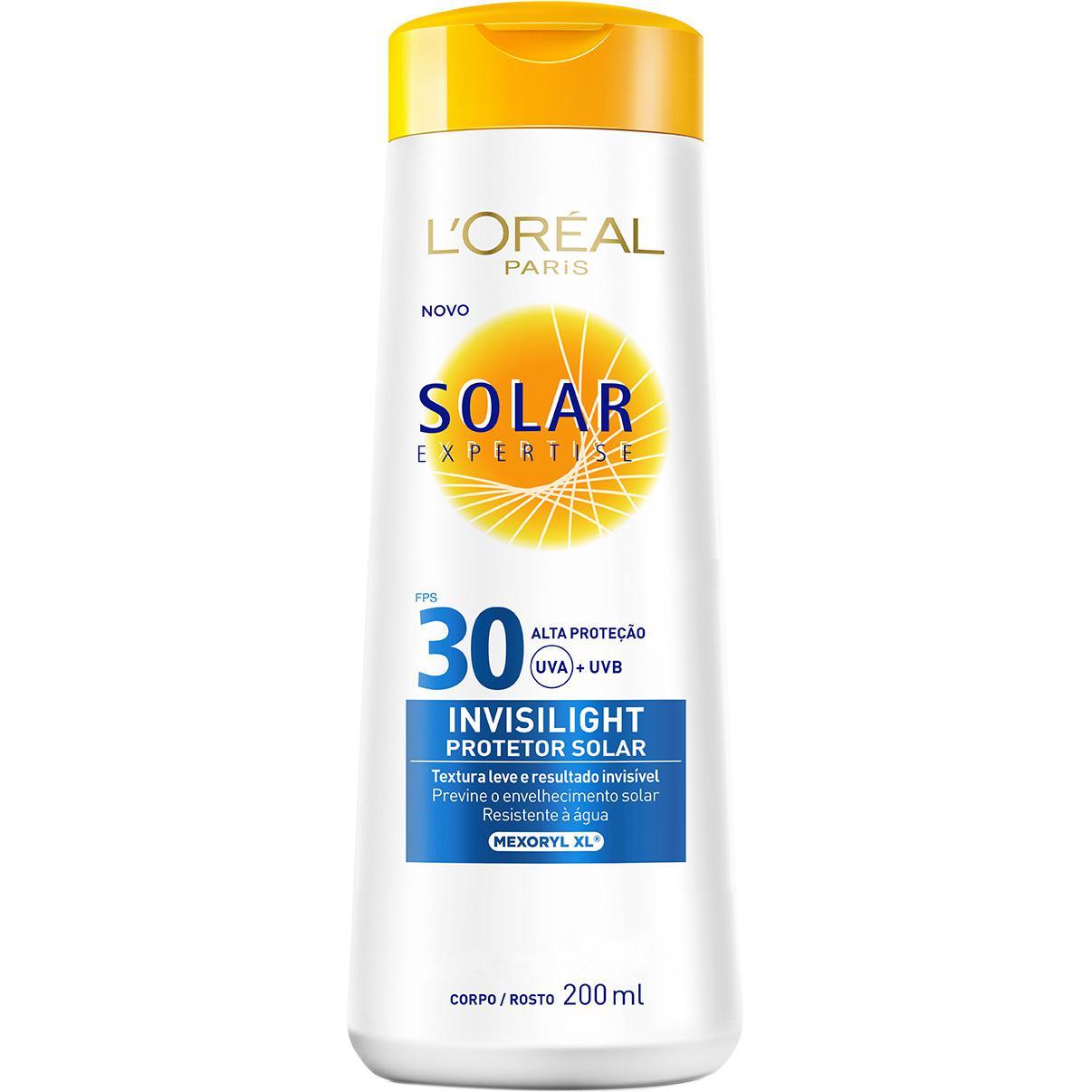 Protetor Solar L Oréal Paris Expertise Invisilight FPS 30 200ml é bom  Vale  a pena  0717f861c2