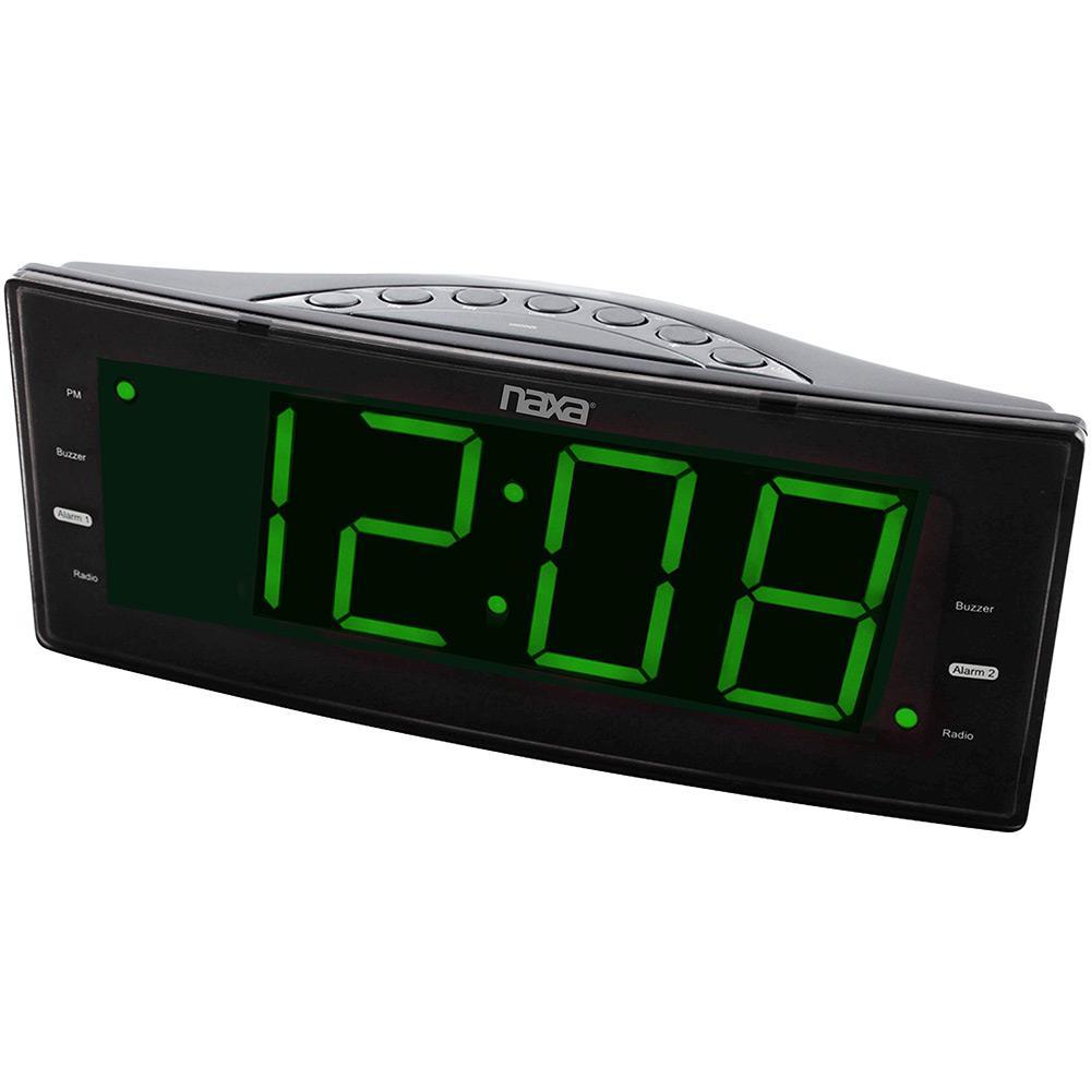 36f1f00cf6f → Rádio Relógio Naxa NRC-166 Preto é bom  Vale a pena
