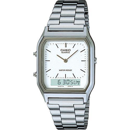 42f64d71a2d Relógio Feminino CASIO Analógico Digital Social AQ-230A-7DMQ é bom  Vale a  pena
