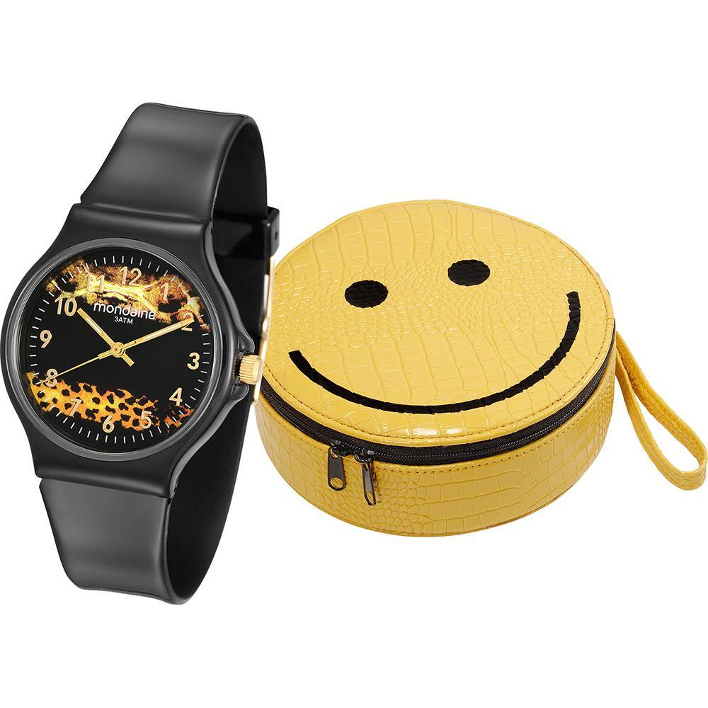 a46fe4b042d Relógio Feminino Mondaine Analógico Fashion 46103l0menp1k2 + Bolsa é bom  Vale  a pena