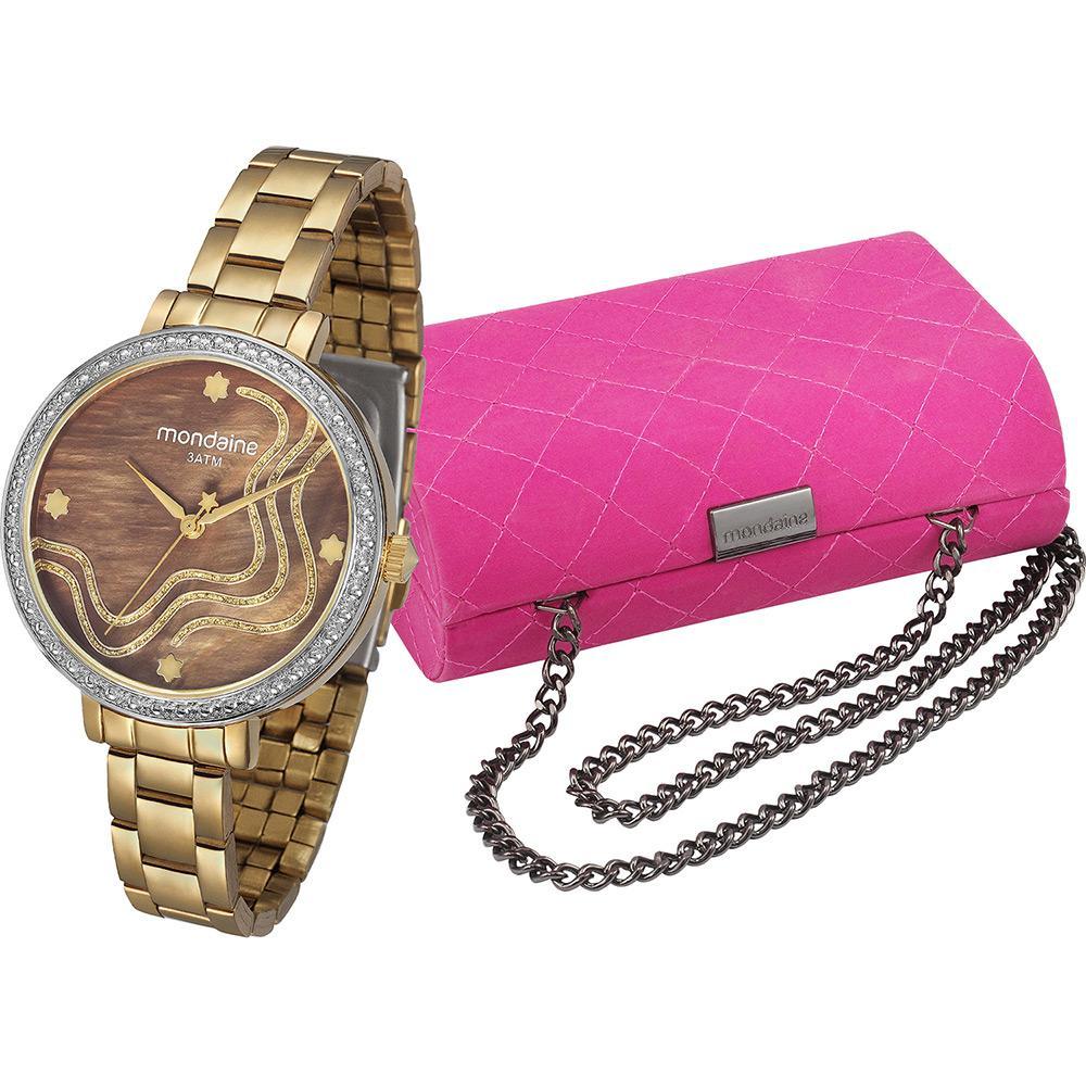 9be46db5700 Relógio Feminino Mondaine Analógico Fashion 94684lpmvde2k2 é bom  Vale a  pena