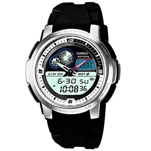 8234ffbfc75 Relógio Masculino Casio Analógico Digital Esportivo AQF-102W-7B é bom  Vale  a pena
