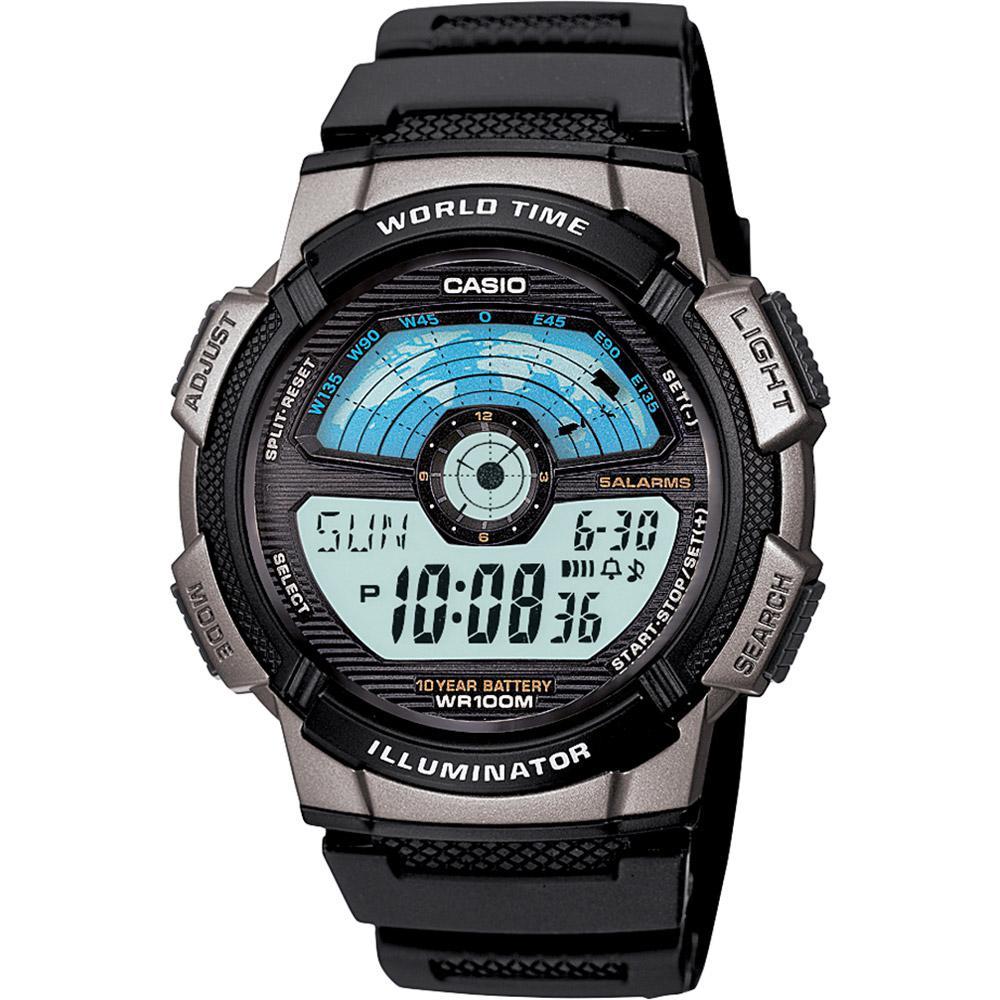 9f5ec6cb4c0 Relógio Masculino Casio Digital Esportivo AE-1100W-1AVDF é bom  Vale a pena