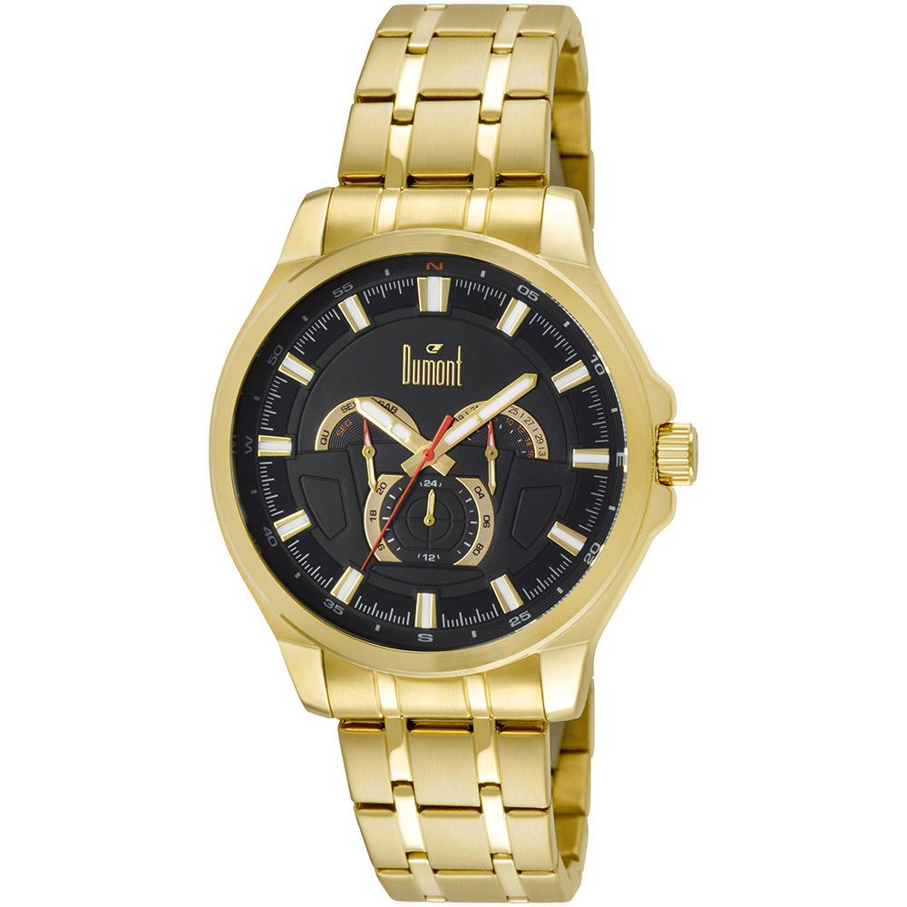 0aeda982e61 Relógio Masculino Dumont Multifunção Moderno Du6p29abr 4p é bom  Vale a pena