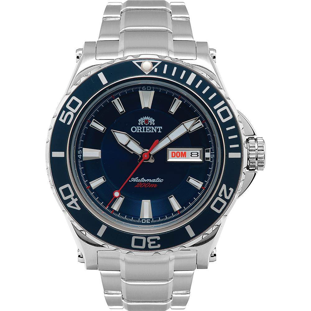 3cc3e1490 Relógio Masculino Orient Analógico Casual Automático 469SS048 D1SX é bom   Vale a pena