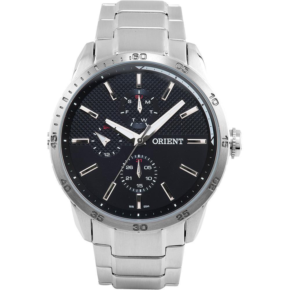 974051aa394 Relógio Masculino Orient Multifunção Prata MBSSM044 P1SX é bom  Vale a pena