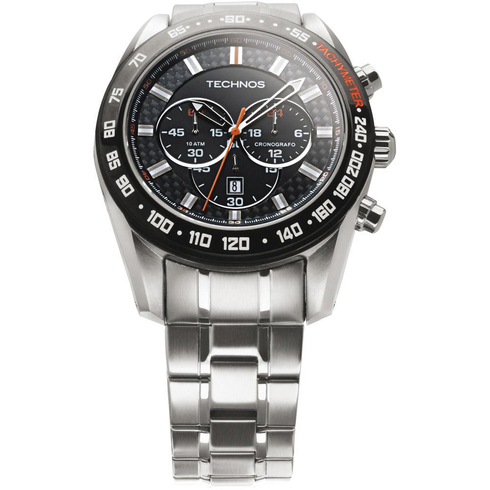 7aabbaa65a5 Relógio Masculino Technos Analógico Esportivo TS Carbon OS20HM 1P é bom   Vale a pena