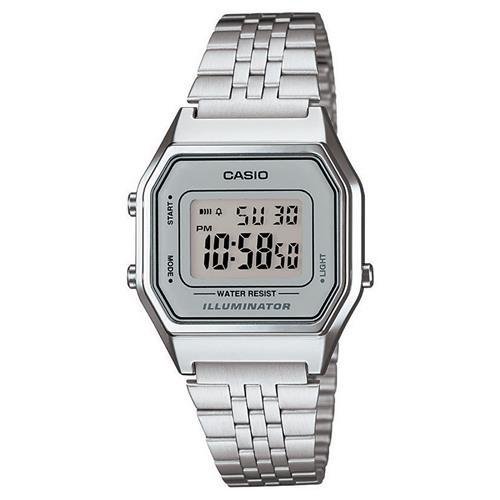 183901b23c2 Relógio Feminino Digital Casio Vintage LA680WA-7DF - Prata é bom  Vale a  pena