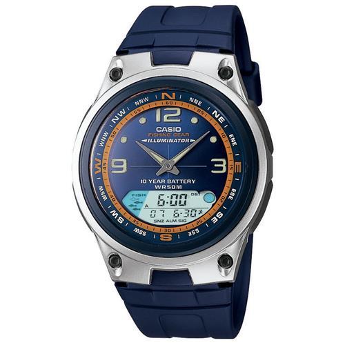14127bef0d2 Relógio Masculino Analógico Casio Illuminator AW822AVDF - Azul é bom  Vale  a pena