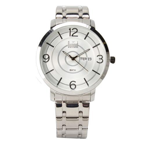 0438d84b363 Relógio Masculino Analógico Dumont DU2305AB 3K – Prata é bom  Vale a pena