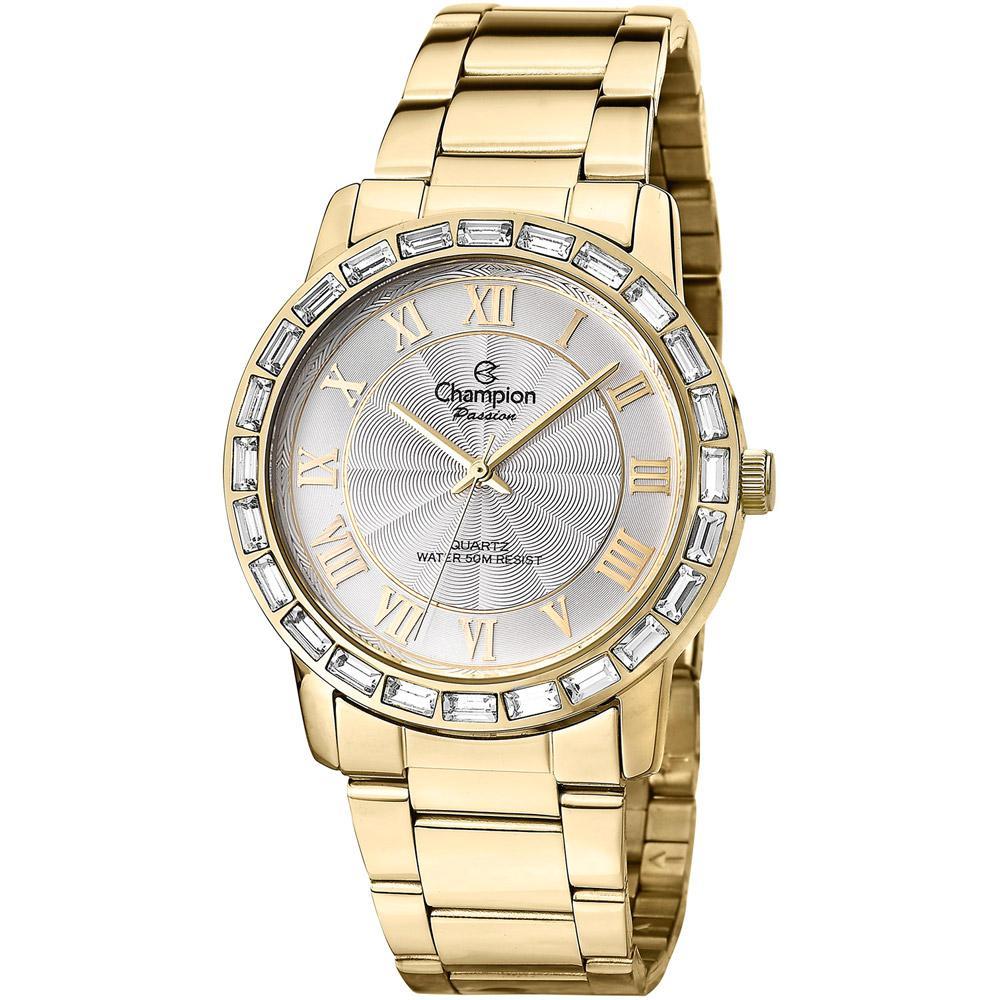 ffb075b9fca → Relógio Champion Feminino Analógico Social CN28857H é bom  Vale a ...